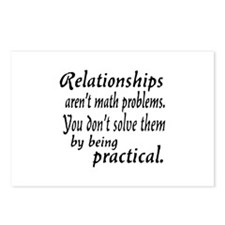 Castle Relationships Quote Postcards (Package of 8