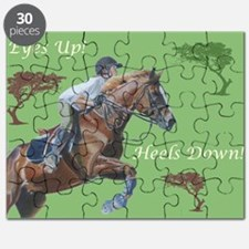Eyes Up! Heels Down! Horse Puzzle