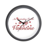 An Australian Terrier is my valentines Wall Clock