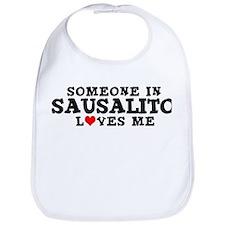 Sausalito: Loves Me Bib