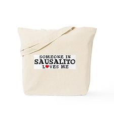 Sausalito: Loves Me Tote Bag