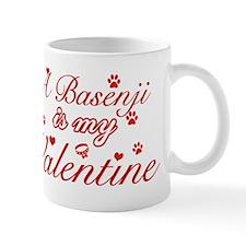 A Basenji is my valentines Mug