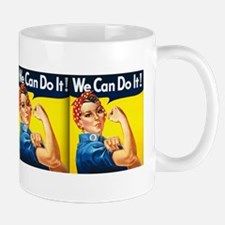 WW2 Poster, We Can Do It! Mug