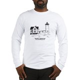Nubble lighthouse Long Sleeve T-shirts