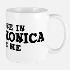 Santa Monica: Loves Me Mug