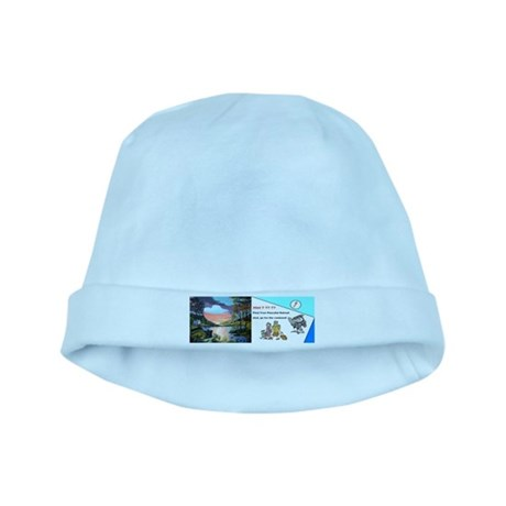 Peaceful Retreat baby hat