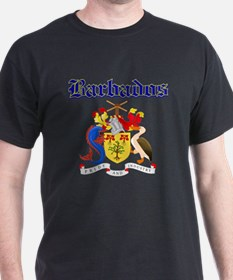 Bajan Coat of arms designs T-Shirt