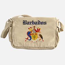 Bajan Coat of arms designs Messenger Bag