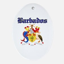 Bajan Coat of arms designs Ornament (Oval)
