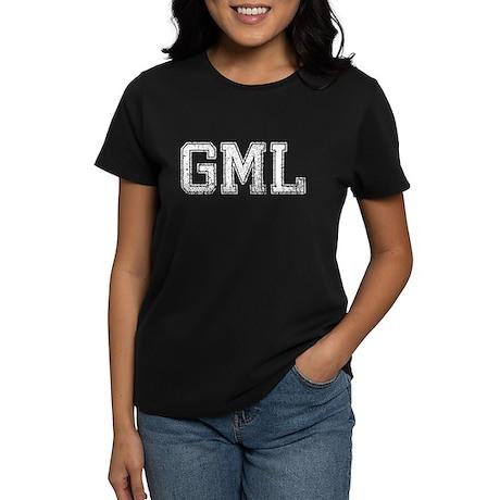 GML, Vintage, Women's Dark T-Shirt