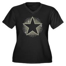 Star Dust Plus Size T-Shirt