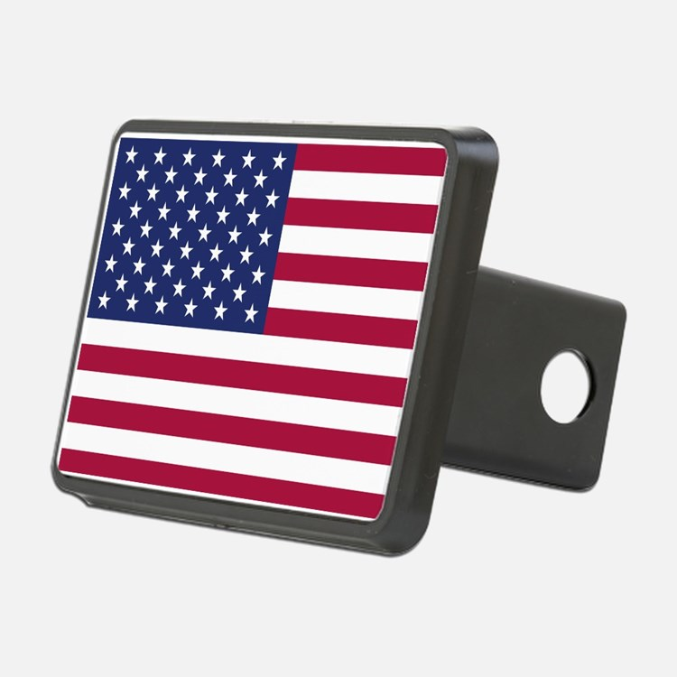American Flag Hitch Cover