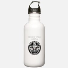 USN Navy Diver Sub Vet.png Water Bottle