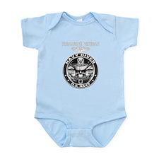 USN Navy Diver Sub Vet.png Infant Bodysuit
