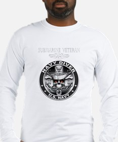 USN Navy Diver Sub Vet.png Long Sleeve T-Shirt