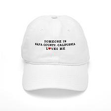Napa County California: Loves Baseball Cap
