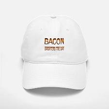Bacon Brightens Baseball Baseball Cap