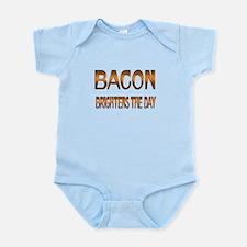 Bacon Brightens Infant Bodysuit