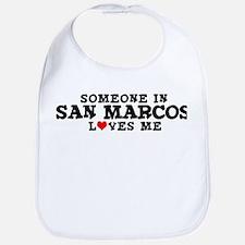 San Marcos: Loves Me Bib