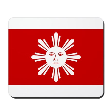 First Official Flag of the Ph Mousepad