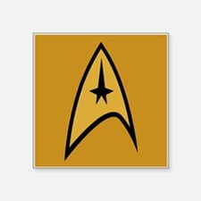 "Star Trek Square Sticker 3"" x 3"""