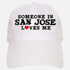 San Jose: Loves Me Baseball Baseball Cap