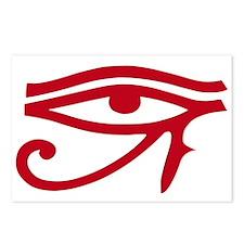 Eye of Ra Red Original.png Postcards (Package of 8