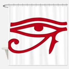 Eye of Ra Red Original.png Shower Curtain