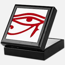 Eye of Ra Red Original.png Keepsake Box