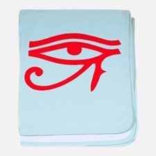 Eye of Ra Red Original.png baby blanket