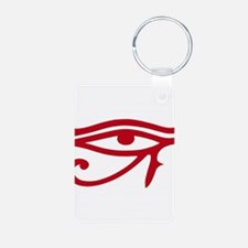 Eye of Ra Red Original.png Aluminum Photo Keychain