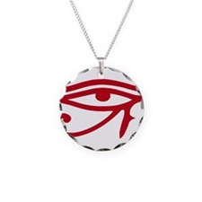 Eye of Ra Red Original.png Necklace Circle Charm