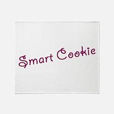 smart cookie Throw Blanket