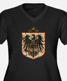 German Imperial Eagle Distressed Women's Plus Size