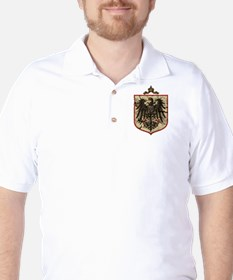 German Imperial Eagle Distressed T-Shirt