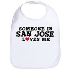 San Jose: Loves Me Bib