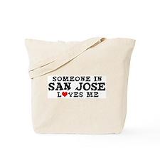 San Jose: Loves Me Tote Bag