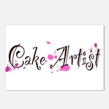 Cake Artist Postcards (Package of 8)