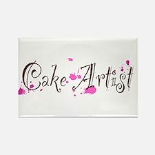Cake Artist Rectangle Magnet