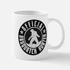 Sasquatch Hunter - White on Black Mug