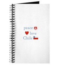 Peace, Love and Chile Journal