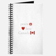 Peace, Love and Canada Journal