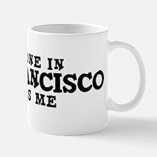 San Francisco: Loves Me Small Small Mug