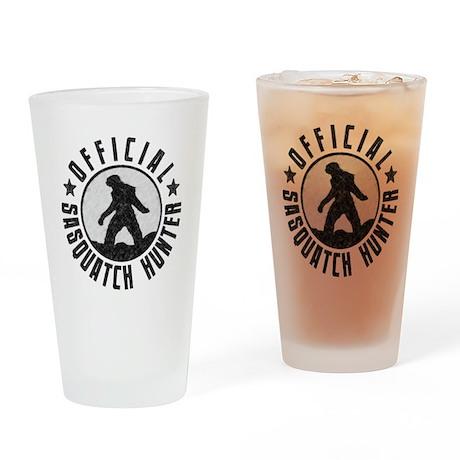 Official Sasquatch Hunter Drinking Glass