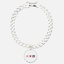 Peace, Love and Cambodia Bracelet