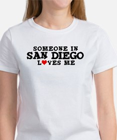San Diego: Loves Me Women's T-Shirt