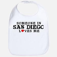 San Diego: Loves Me Bib