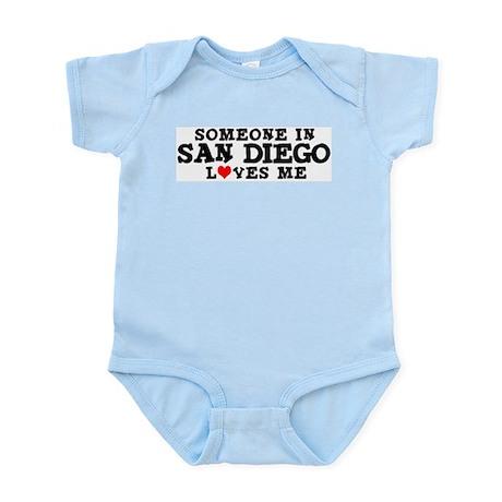 San Diego: Loves Me Infant Creeper