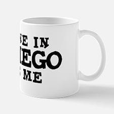 San Diego: Loves Me Small Small Mug