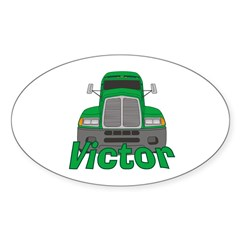 Trucker Victor Decal